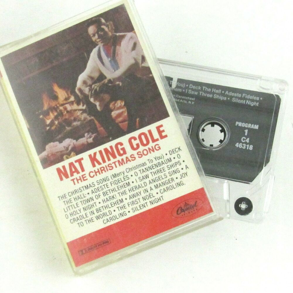 Nat King Cole The Christmas Song Cassette Capitol Records A Cradle In Bethlehem #Christmas ...