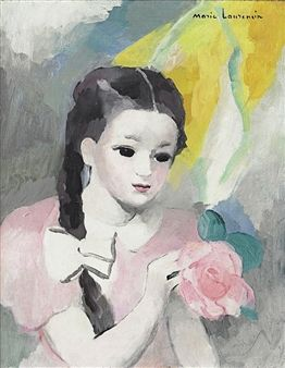 Sheherazade Enfant By Marie Laurencin Peinture Dessin Peinture