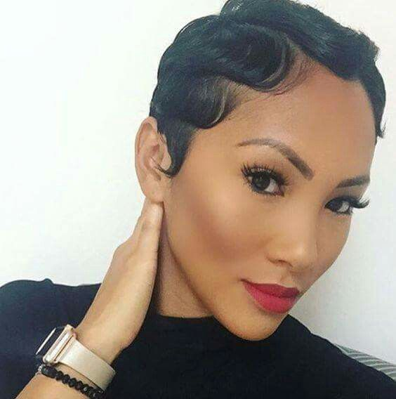 Elegant Finger Waves Finger Waves Short Hair Short Hair Styles Natural Hair Styles