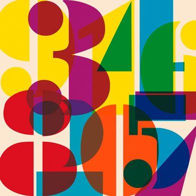affiche graphique contemporaine chiffres imeus design l 39 affiche moderne t l nova work. Black Bedroom Furniture Sets. Home Design Ideas
