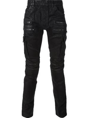 6e27a1dac7e BALMAIN classic biker jeans £870 sale £609 Balmain - Men s Designer Clothing  - Farfetch