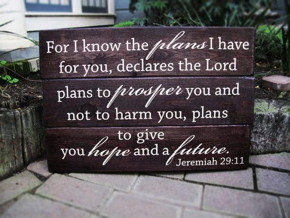 Jeremiah 29 11 Wall Art jeremiah 29 11 wall art for i know the plans jeremiah 29:11 wood