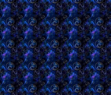 Geometric in Space fabric by costumewrangler on Spoonflower - custom fabric