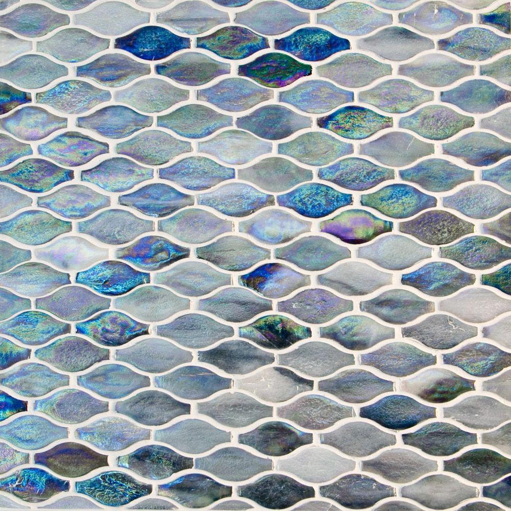 Gl Stone Tile Arabesque Pattern