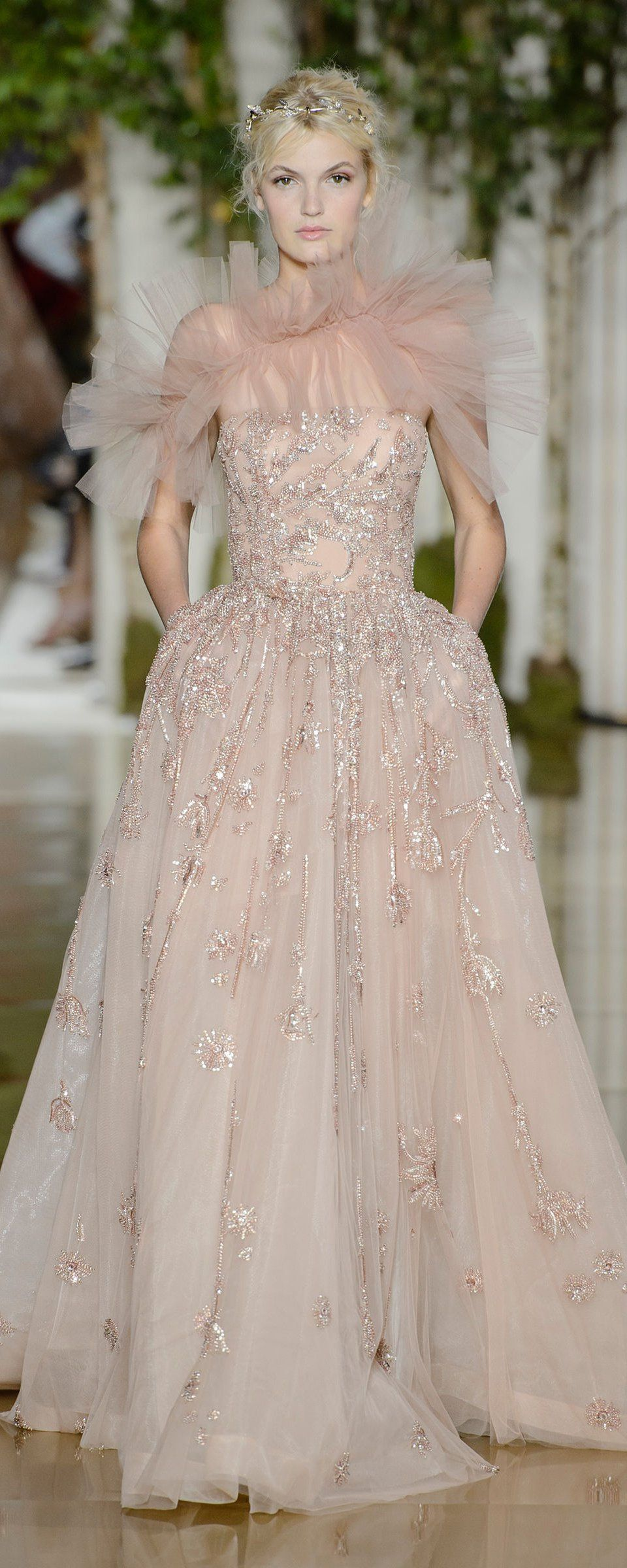 Zuhair murad automnehiver haute couture in dress