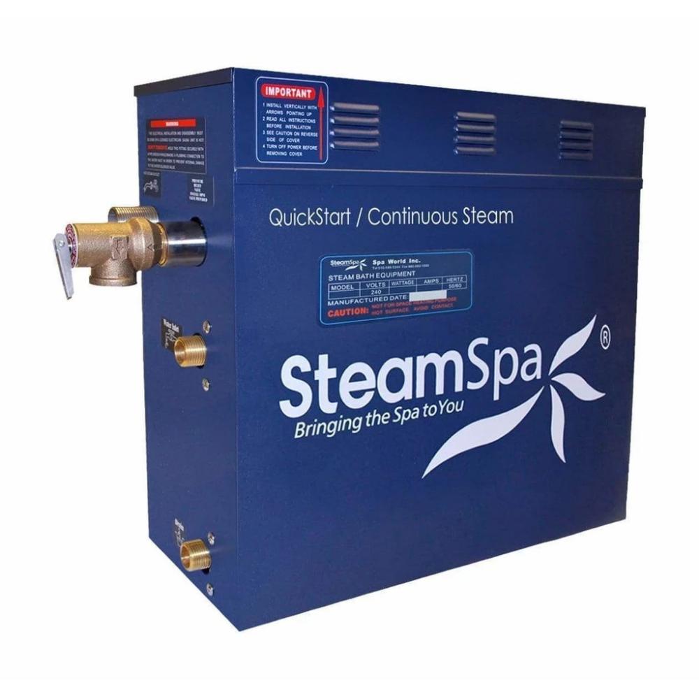 Steamspa Quickstart Indulgence 6 Kw Acu Steam Bath Generator Int600bn Steam Generator Steam Bath Perfect Steam