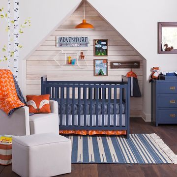 Adventure Outdoor Theme For Toddler Room Toddler Boys Room Baby Boy Rooms Blue Crib
