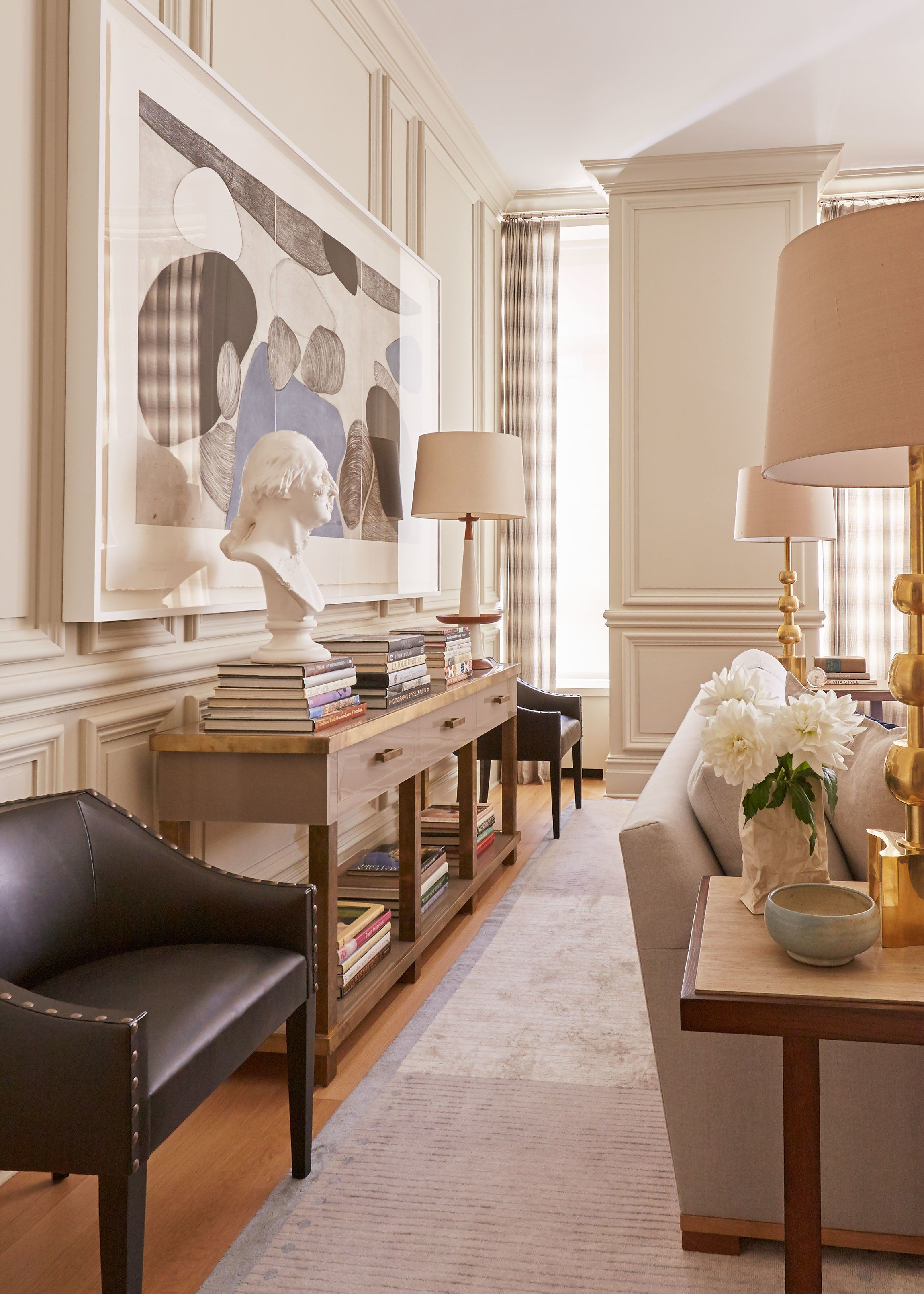 You D Never Guess This Elegant New York Apartment Was A Brand Build Photos Architectural Digest