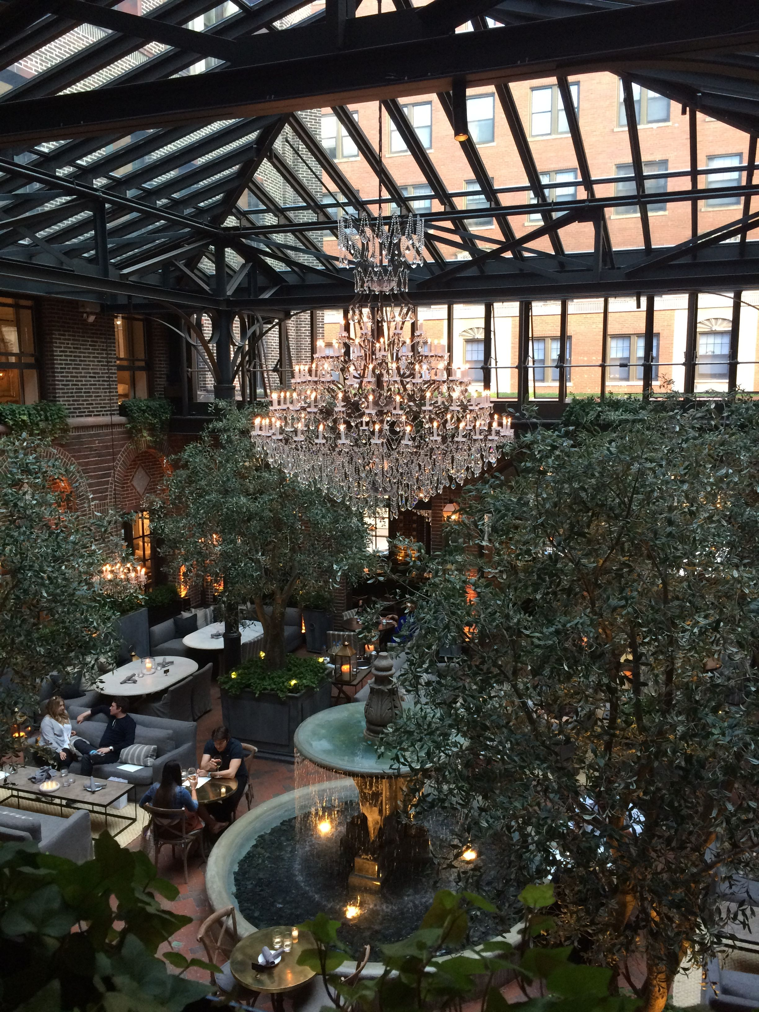 Restoration Hardware Chicago 3 Arts Club Cafe 1300 N Dearborn St Il 60610