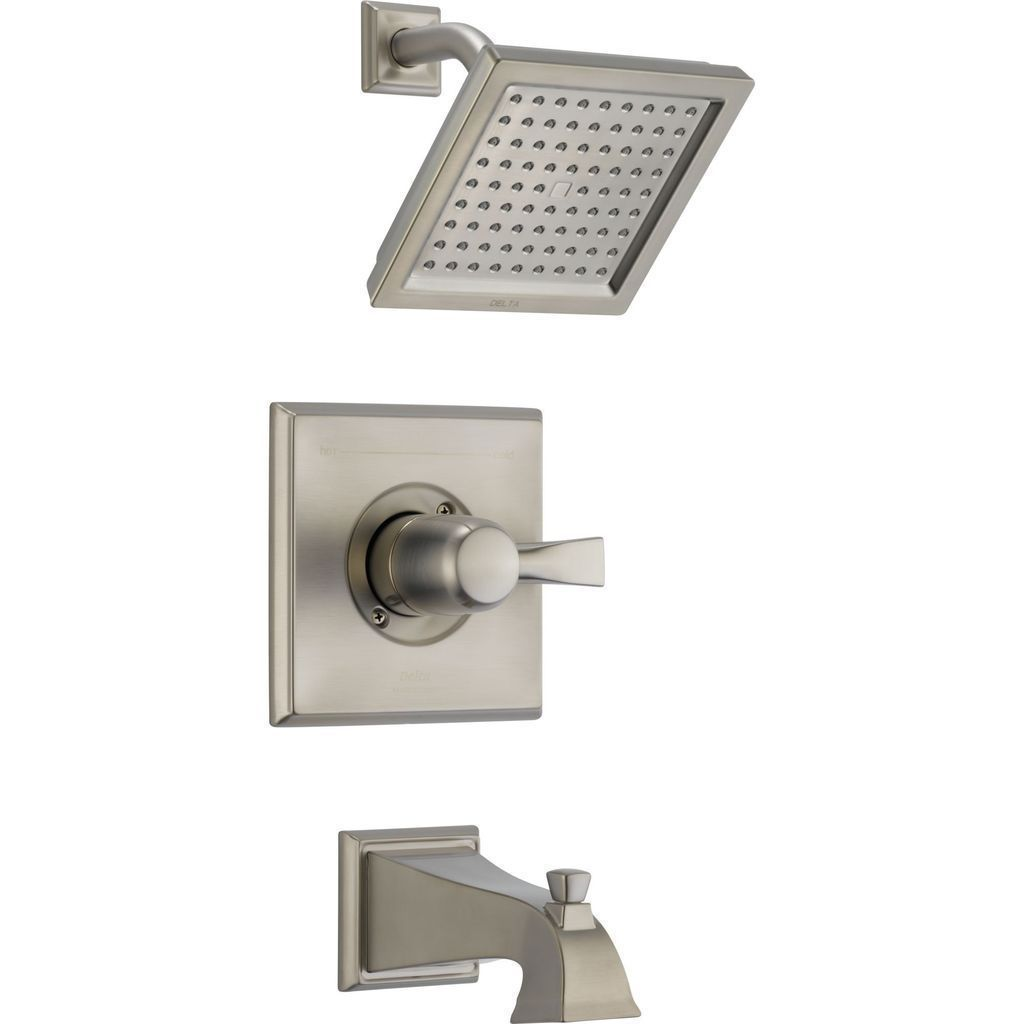 Stainless Dryden Monitor R 14 Series Tub And Shower Trim T14451ss  ~ Como Limpiar La Alcachofa De La Ducha