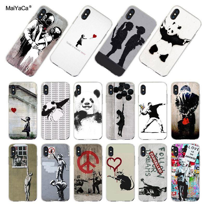 coque iphone 7 banksy