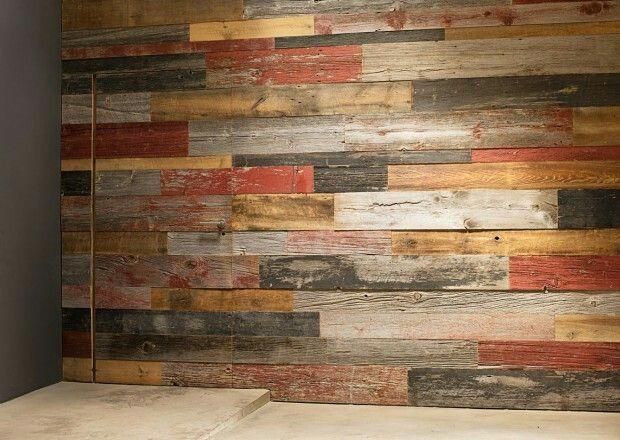 Habillage bois Planches patinée, effet vieilli Toutes teintes ...