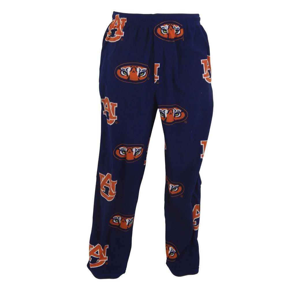 Men's Auburn University Tigers Fleece Pajama Pants