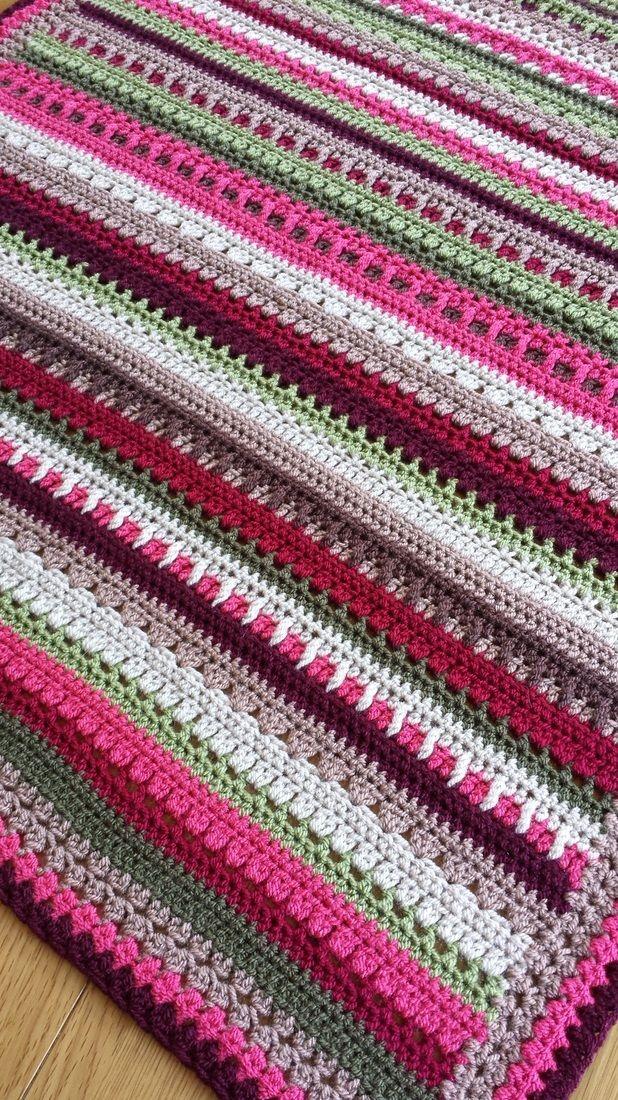 Little leftovers blanket (pattern) on Create & Make & Mend | Crochet ...
