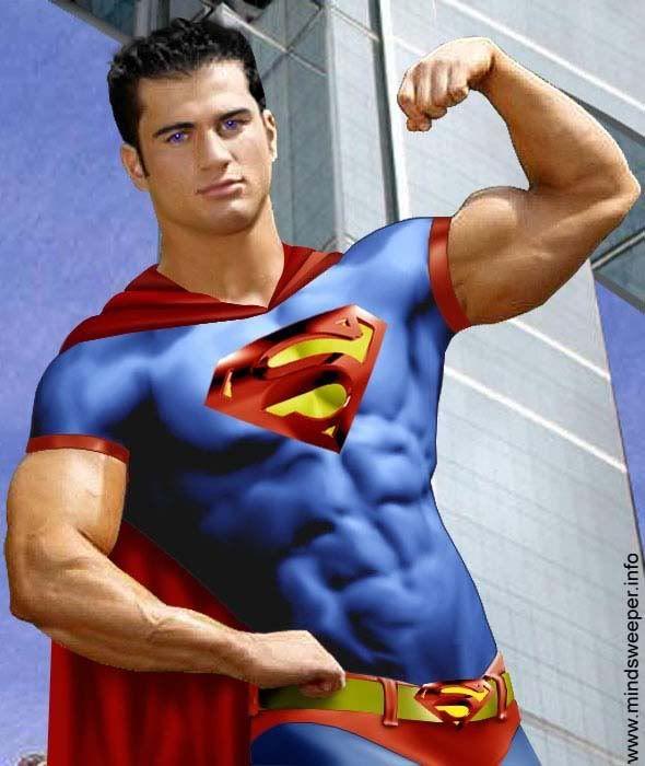 Superman hot naked