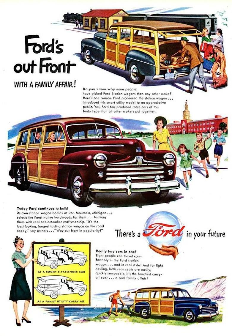 Ford\'s out Front -- WITH A FAMILY AFFAIR!\