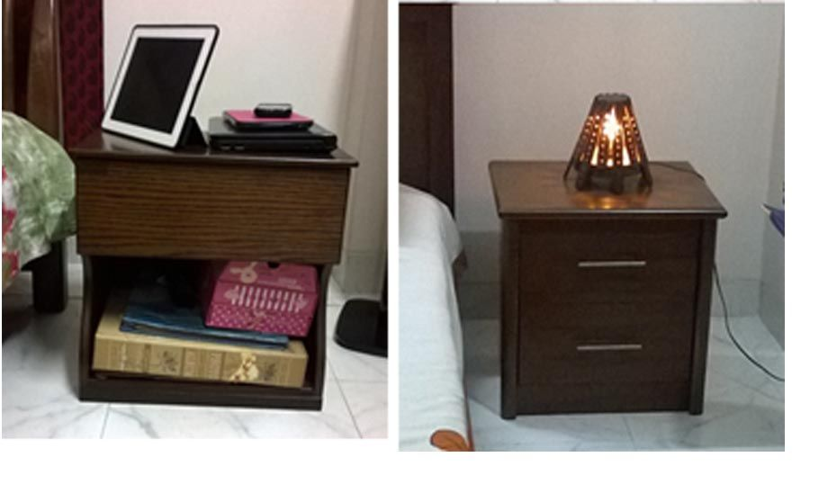 BED SIDE TABLE Company Hatil Material Wood Price 7200