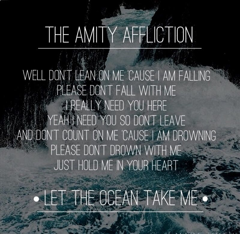 The amity affliction lyrics this could be heartbreak | The Amity ...