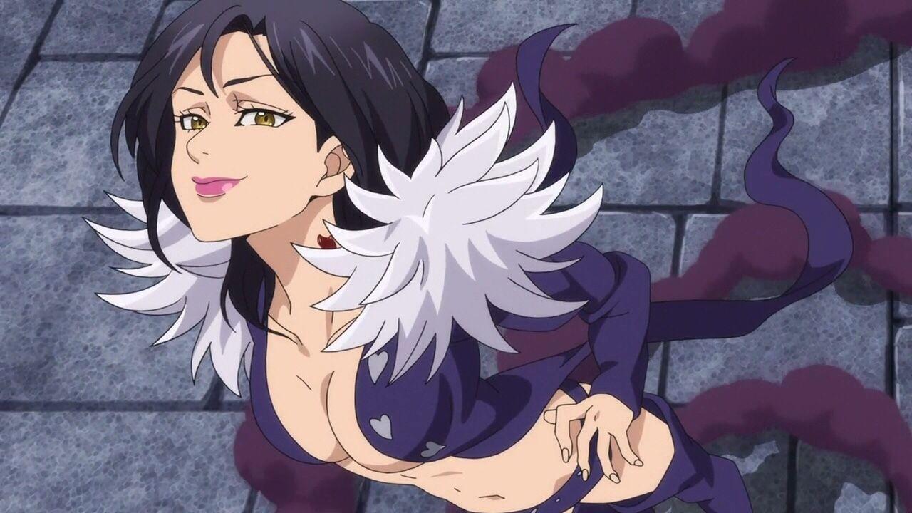 Teleportation user of the night Merlin Anime Seven