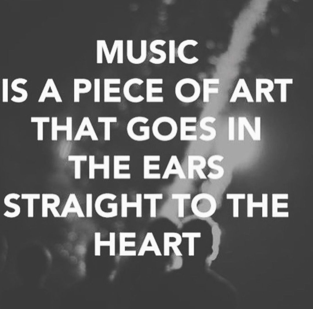 Inspirational Quotes About Music And Life Pinsa Me On Music Gives Sense To Life  Pinterest