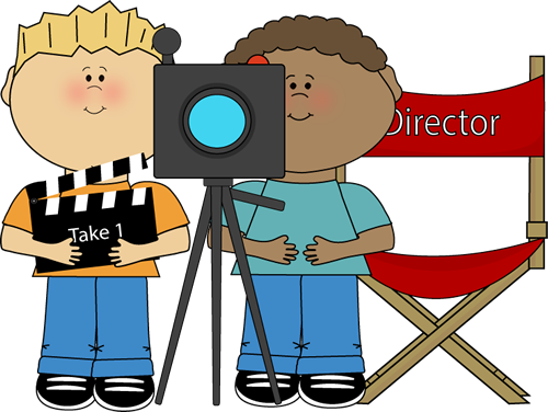 kids directing behind movie camera hollywood rocks theme lights rh pinterest com Raining Money Clip Art Raining Money Clip Art