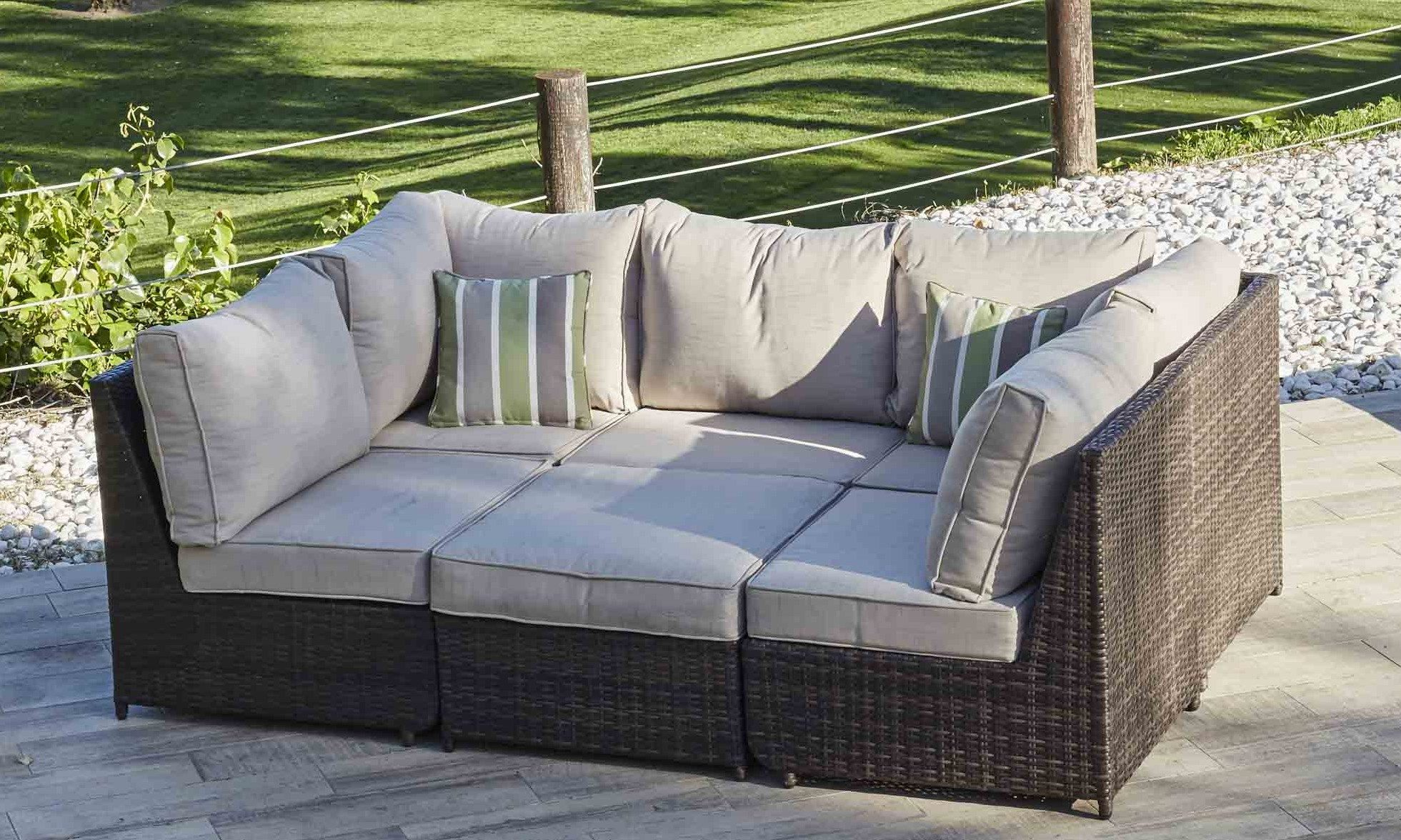 Do Your House Goals Include Your Garden Create The Perfect Space For Relaxing And Entertaining Wit Rattan Garden Furniture Garden Furniture Rattan Corner Sofa