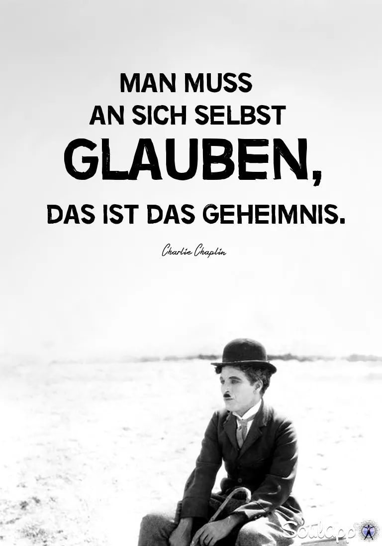 Glaube an dich selbst.. | Zitate | Quotes, Buddhist quotes und Poems