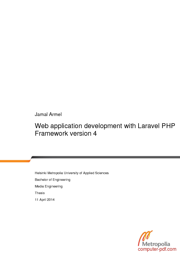 web application development with laravel php framework free web
