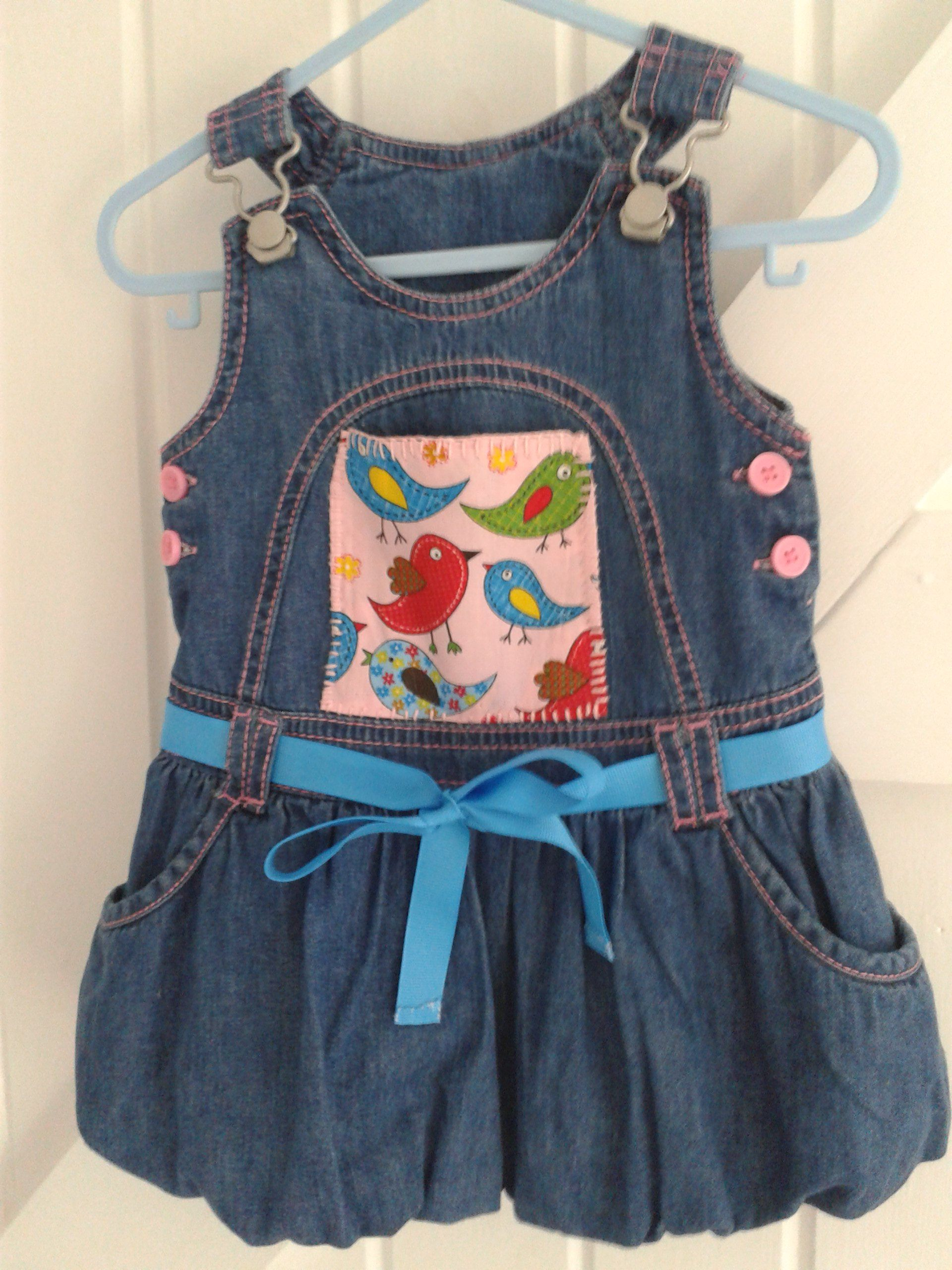BABY BLUES  puff-ball Owl dress  3-9 mths £12.50