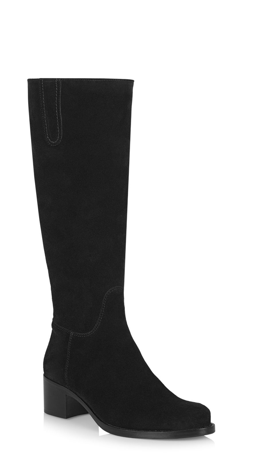 21a6f3abe La Canadienne Official Site | Free Shipping Suede - Boots - Polly - Black  Boots | La Canadienne USA Boutique