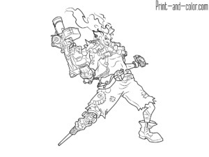 Overwatch Coloring Pages Overwatch Color