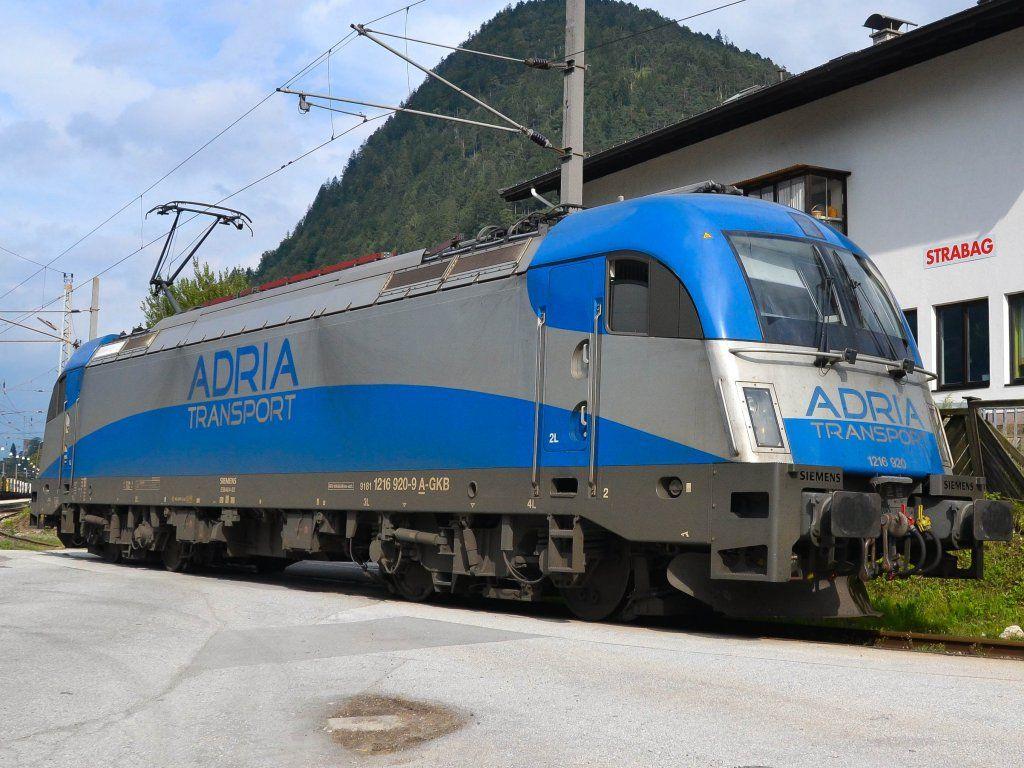 BR 182 ADRIA Transport Eisenbahn, Modelleisenbahn, Fahren