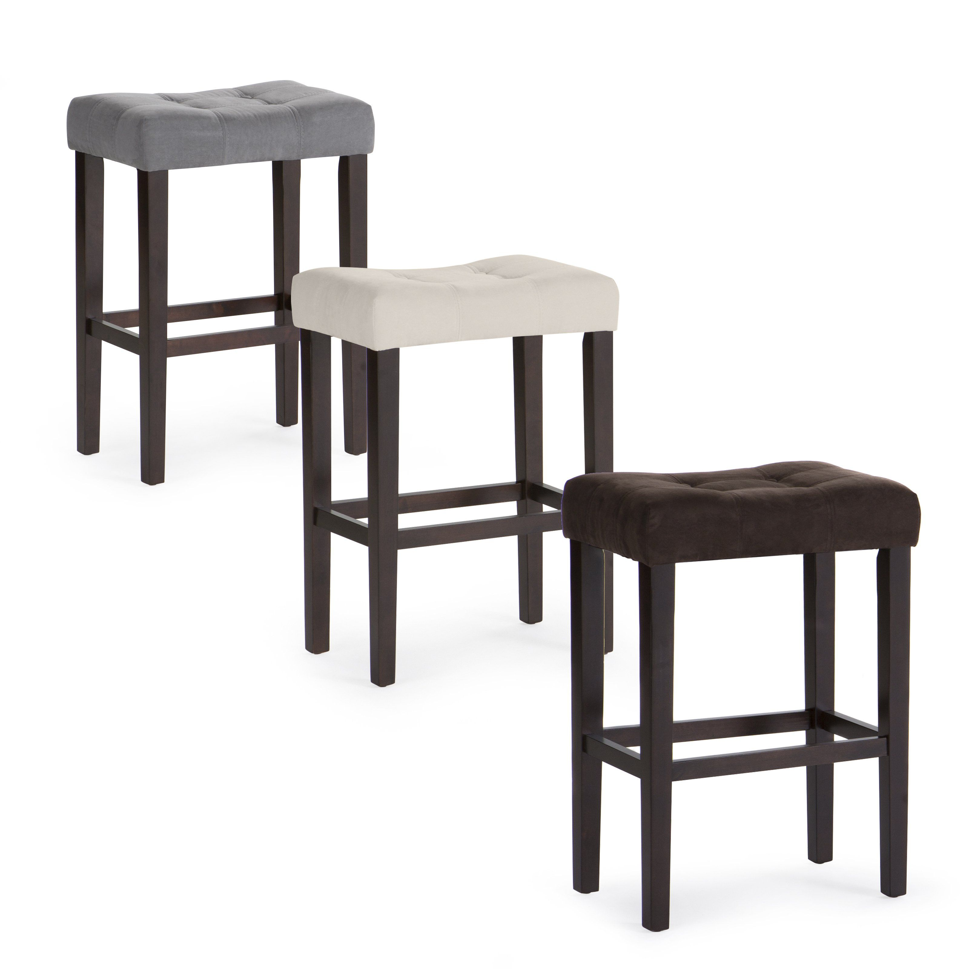 Palazzo 29 Inch Saddle Bar Stool The In Grey Is Graced With Contemporary Style And Casual Comfort Perfect For Your Home