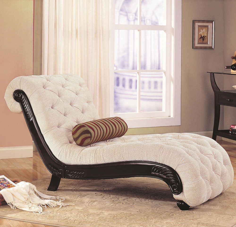 White Chaise Lounge w/ Vibroacoustic Massage Therapy - Body