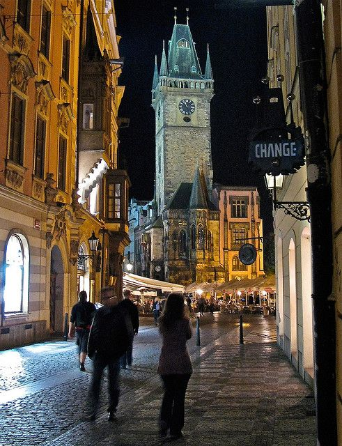 Prague at Night, Czechia