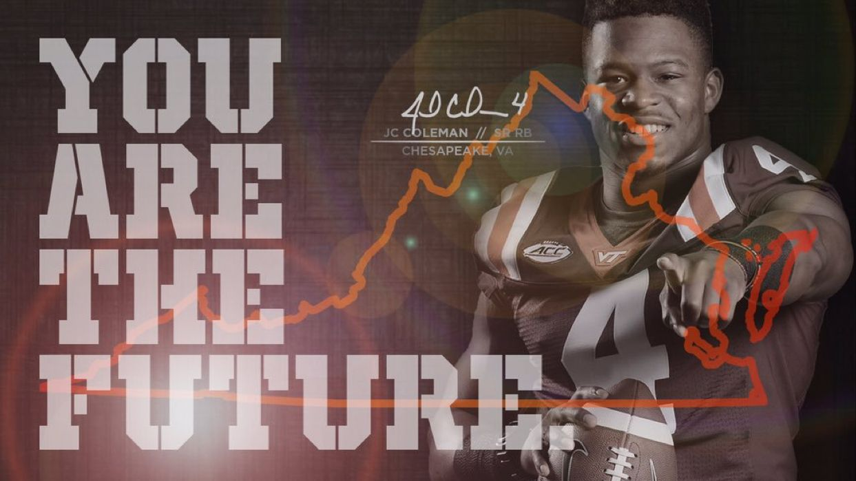 Virginia Tech College Football Recruiting Sports Design Sports