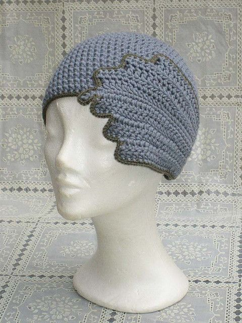 crocheted hat | crochet | Pinterest | 20s style, Crochet and Patterns