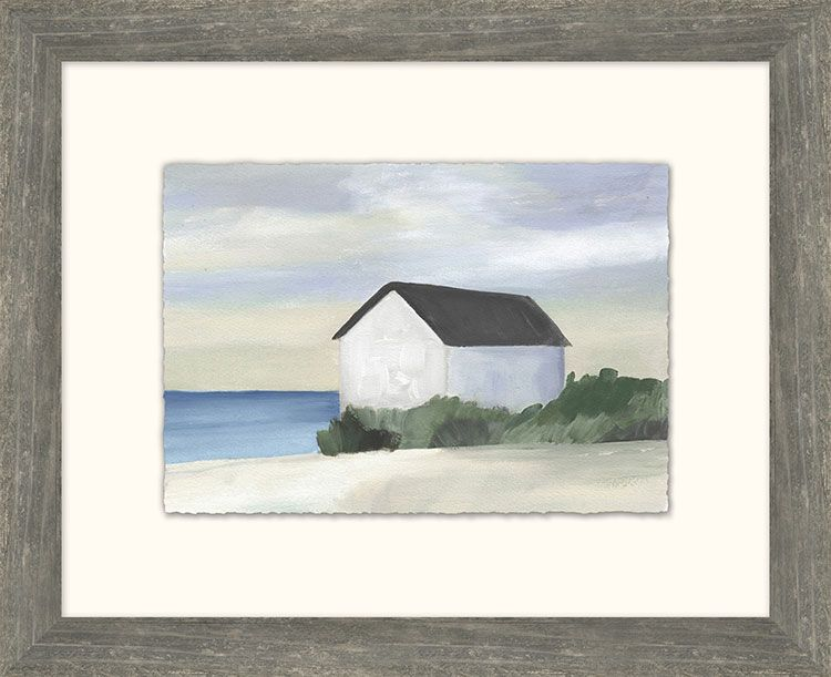 Dwellings On The Coast Framed Prints Gallery Walls Art
