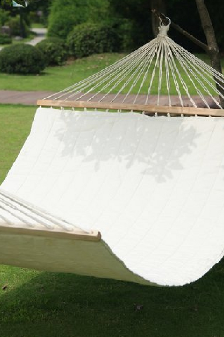 This comfy, colorful hammock is just what your backyard or cottage has been missing! (Affiliate) || http://shopstyle.it/l/bIU0 || Garden Ideas, Garden furniture, Garden furniture Ideas, Hammock, Hammock Garden, Hammock Ideas, Hammock Camping, Hammock Chair, Home decor garden, Home decor garden Furniture, Home decor garden Ideas, Garden party BBQ, Garden party BBQ Ideas, Patio Ideas, Patio Garden ideas, Patio Ideas on a budget, Patio garden