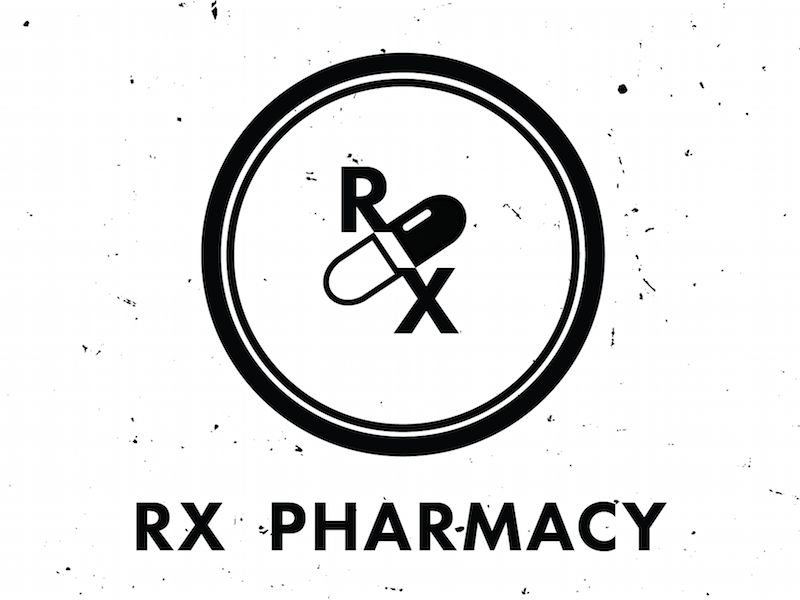 Rx Pharmacy Logo Pharmacy Logos And Typography
