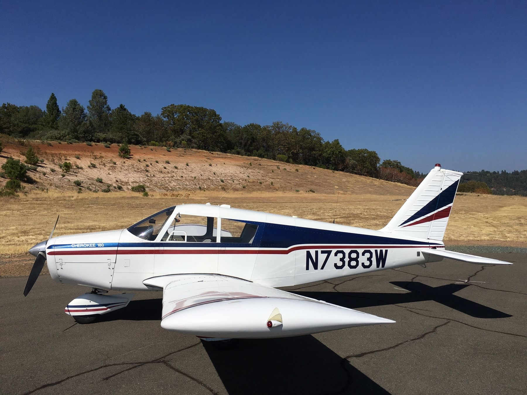 1963 Piper PA-28-180 Cherokee 180 for sale in Placerville, CA United