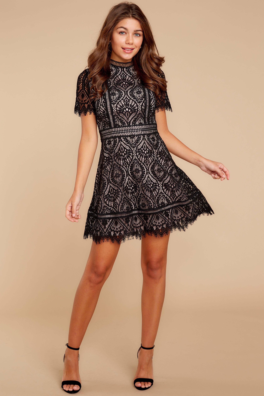 Give a reason black lace dress red dress boutique pinterest