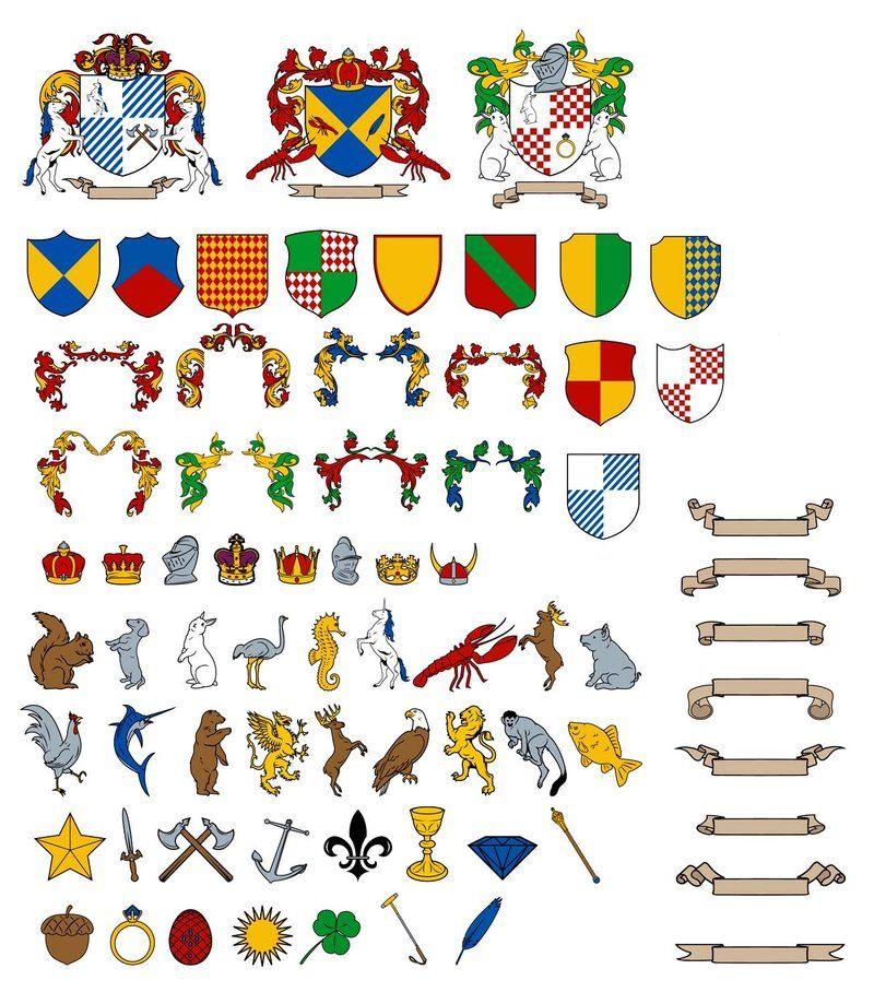 Рыцарские символики картинки