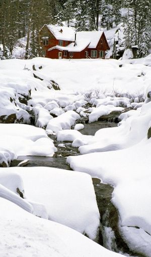 Northern California By Joseph Martinez Winter Scenery Winter Landscape