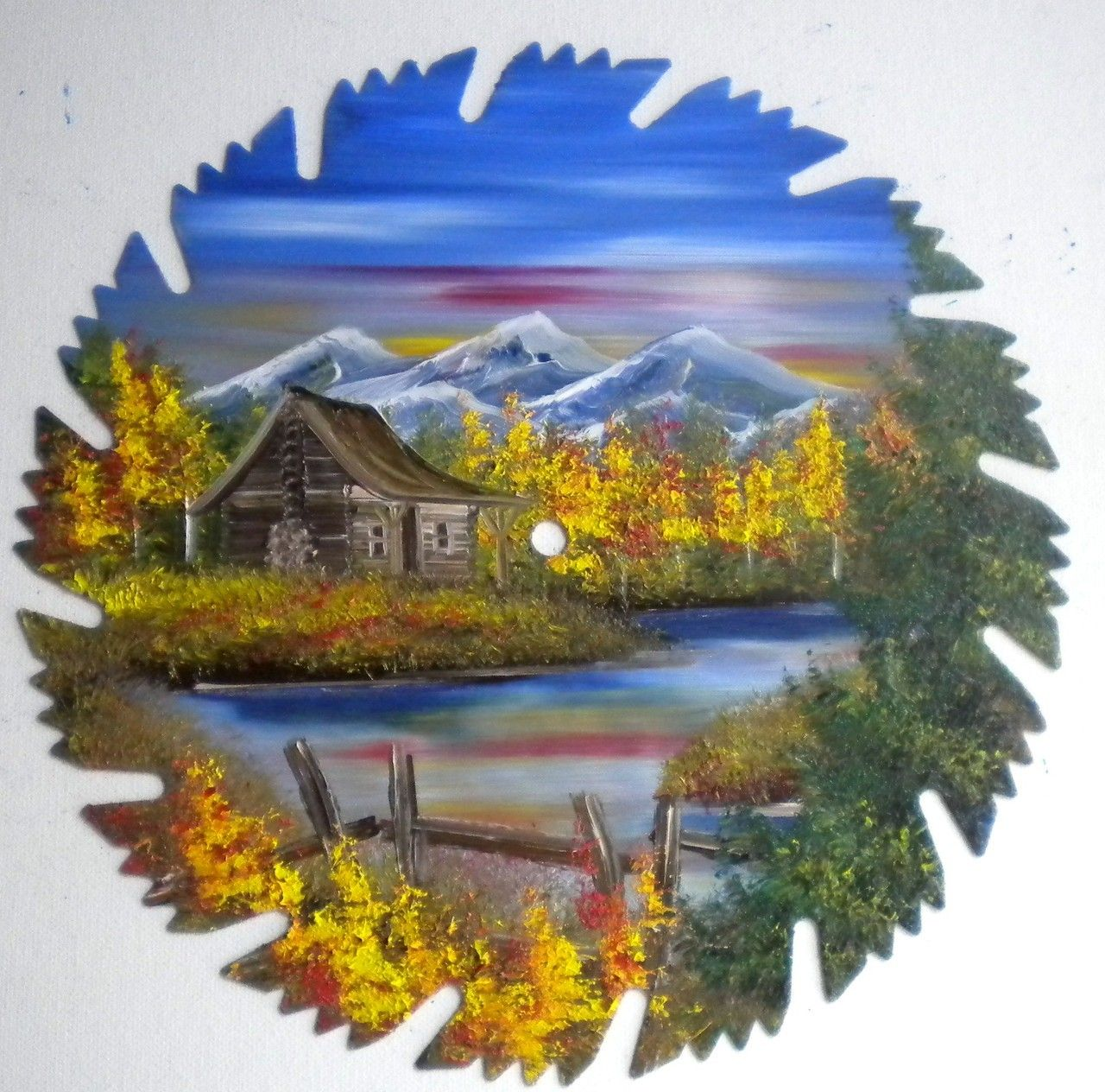 Mountain Crafts - Mountain Cabins, $24.95 (http://www.mountaincrafts.co/mountain-cabins/)