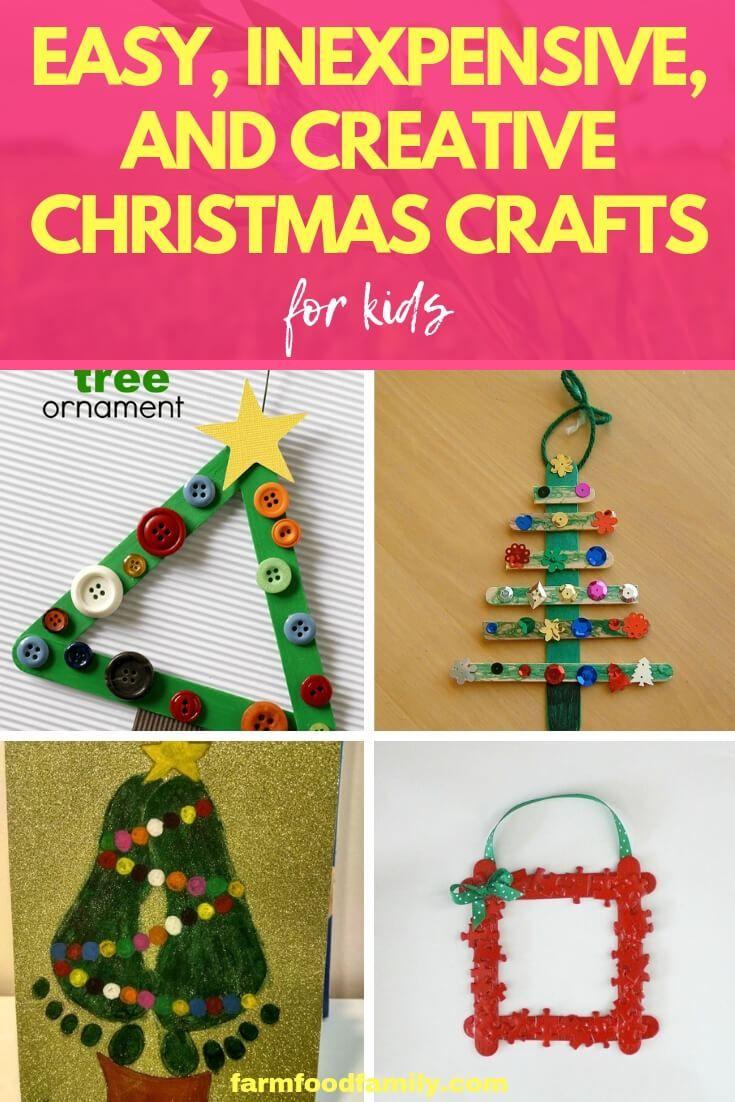 32+ Easy christmas craft ideas 2020 info