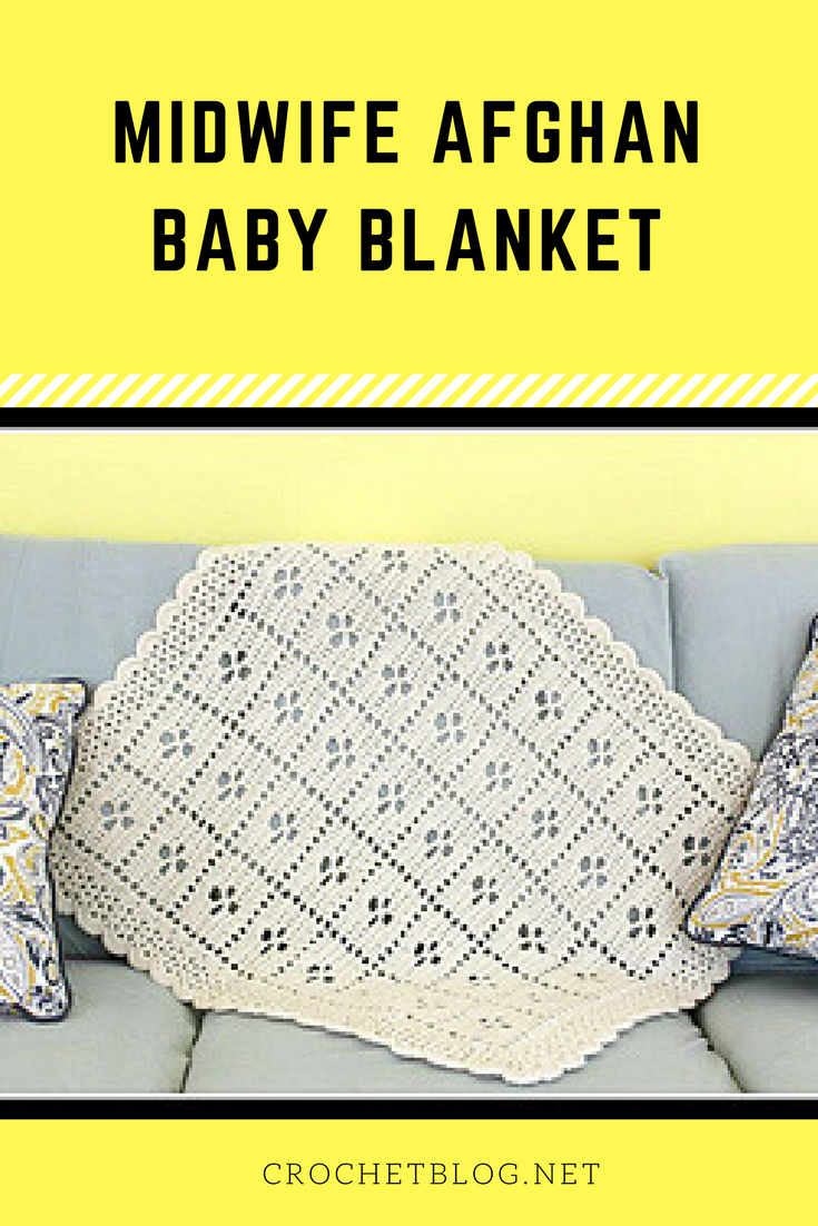 Midwife Afghan Baby Blanket   Crochet items