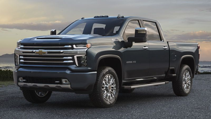 Chevrolet Silverado Hd High Country Gets New Grille Silverado Hd