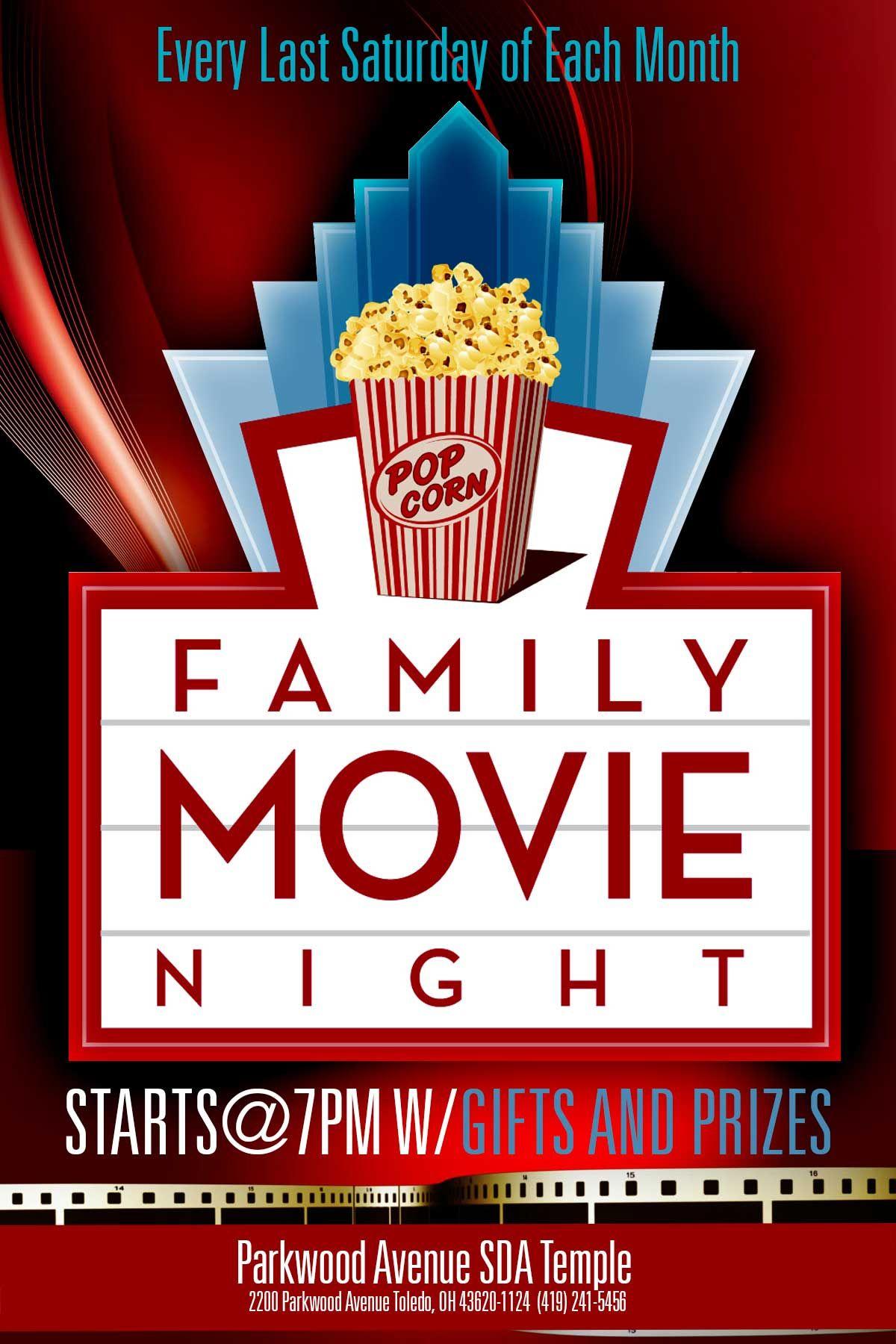 033 Movie Flyer Template Free Night Unusual Ideas Family