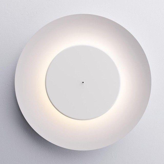Fontana Arte - Lunaire LED Wand-\/Deckenleuchte - signalweiß - deckenleuchten für die küche